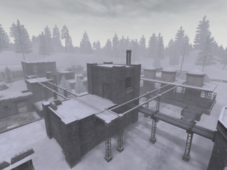 Building near German team spawn